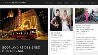 Scotland Re:Designed website