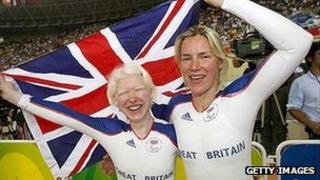 Aileen McGlynn and her Welsh pilot Ellen Hunter