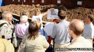 Greyfriars dig open day