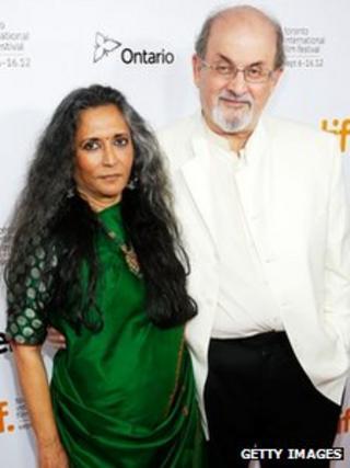 Deepa Mehta and Sir Salman Rushdie