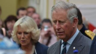Prince Charles and Camilla, the Duchess of Cornwall