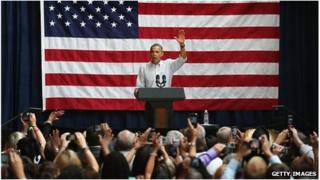 Barack Obama fundraising in August 2012