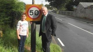 Glyn Davies MP and Maisy Williams