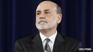 US Federal Reserve Chairman Ben Bernanke delivers remarks about a significant shift in the direction of US monetary policy at the Federal Reserve in Washington 13 September 2012