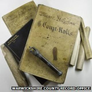 Manor Atherstone Court Rolls