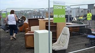 Longue Hougue recycling site