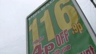 Jersey petrol prices