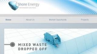 Shore Energy website