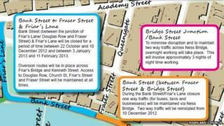 Highland Council street plans