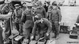 British soldier in Korean War