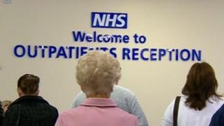Outpatients reception