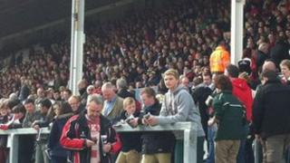 Crowds at Ravenhill