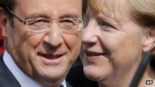 President Hollande and Chancellor Merkel