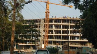 Building site in Kampala