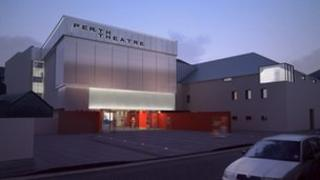 Perth Theatre plan