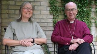 Bishop Clive Young with his wife Sue