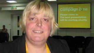 Lib Dem activist Jackie Pearcey