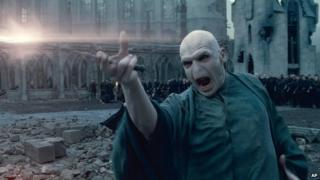 """Lord Voldemort in a scene from """"Harry Potter and the Deathly Hallows: Part 2."""