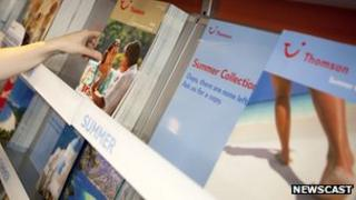 Thomson holiday brochures