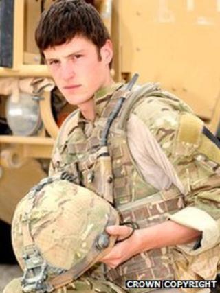 Rifleman Matthew Wilson