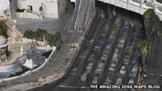 Amazing iOS6 Maps blog