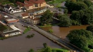 Bridge at Tadcaster over the River Wharfe
