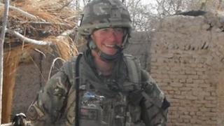 Lieutenant Thomas Onion in Afghanistan