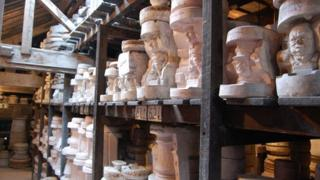 Pottery moulds