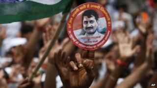 Arvind Kejriwal supporter