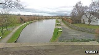 Union canal in Ratho