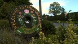 Broughshane sign
