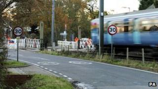 A level crossing