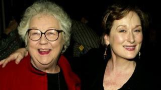 Lois Smith and Meryl Streep