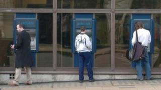 Barclays cash machines