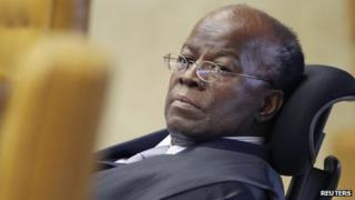 Supreme court judge Joaquim Barbosa
