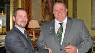 Steven Barnard (right) and David Hartley