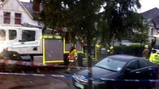 Fire at Gairn Terrace