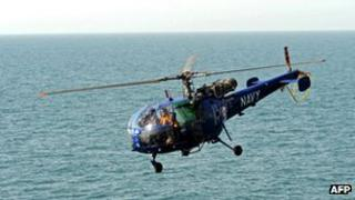 Chetak helicopter (File photo)