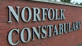 Norfolk police sign