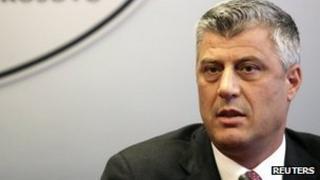 Kosovan Prime Minister Hashim Thaci (archive image)