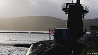 Faslane submarine