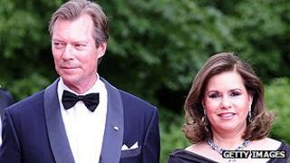 Grand Duke Henri and his wife Maria Teresa