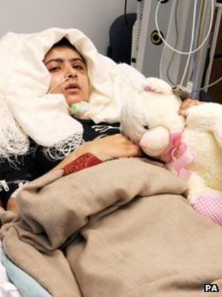 Malala Yousafzai. Picture from QE