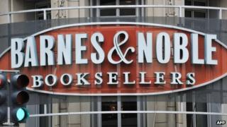 A Barnes and Noble store in Washington DC 30 April 2012