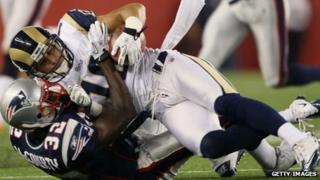 St Louis Rams v New England Patriots in 2010