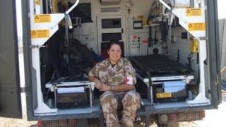 Channing Day was serving with 3 Medical Regiment when she was killed