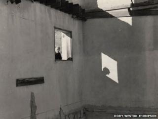 Edward Weston at Rhyolite by Dody Weston Thompson