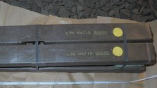Munitions stolen