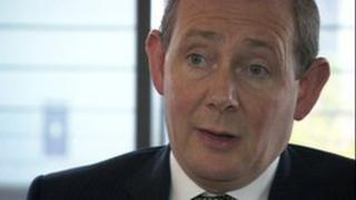 Dr George Holmes, Vice Chancellor of the University of Bolton