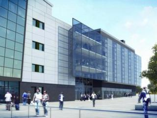 Artist's impression of the new Centre for Experimental Medicine